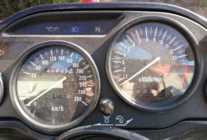 Kawasaki ZZ-R 600 frisch gekauft