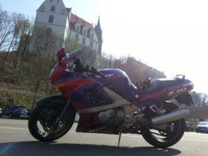 30.03.2014 in Meißen, zu Fuße der Albrechtsburg