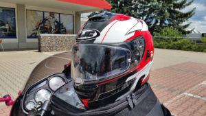 18.06.2016 - neuer Helm HJC RPHA ST
