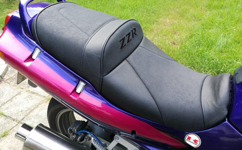 ZZ-R 600 Sitzbank neu bezogen