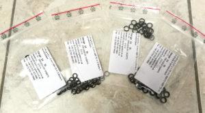 ZZ-R 600 Ersatz-O-Ringe für Vergaser