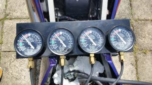 ZZ-R 600 Vergaser synchronisiert