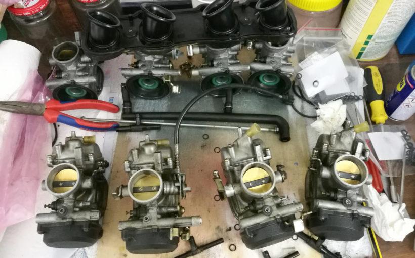 ZZ-R 600 vereinzelte Vergaser