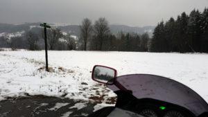 15.03.2015 - Zwischen Geising und Altenberg, Blick ins Müglitztal