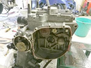 Motor, Kupplungsseite offen