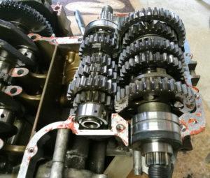 ZZ-R 600 Getriebe