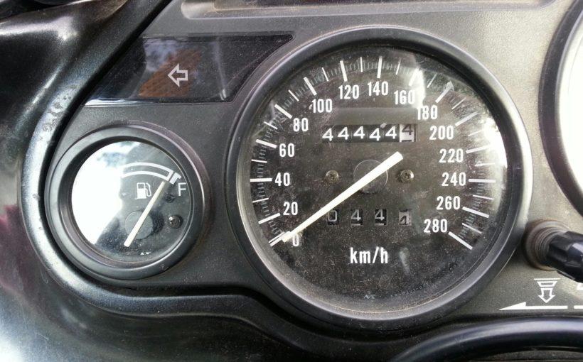 Kawasaki ZZ-R 600 mit 44.4444,4 km